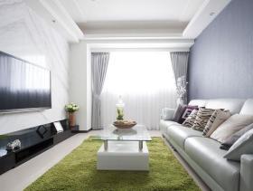 现代时尚都市两居装修案例