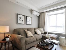 美式现代质感82平两居室装修案例