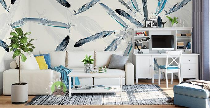 当墙面遇到壁纸,要漂亮也要环保