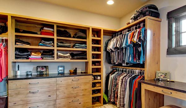 偷看男友衣柜——怎么分区最合适?