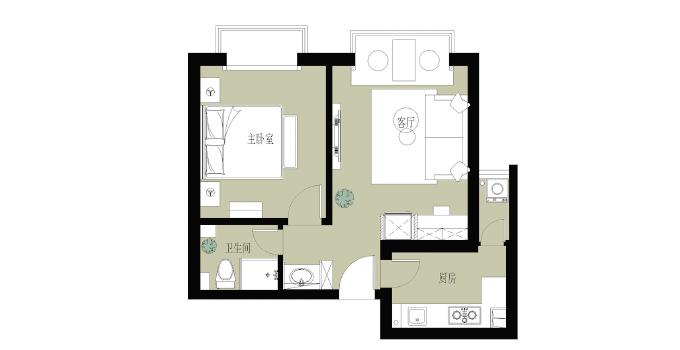 40平方,单身女孩把家装成这样
