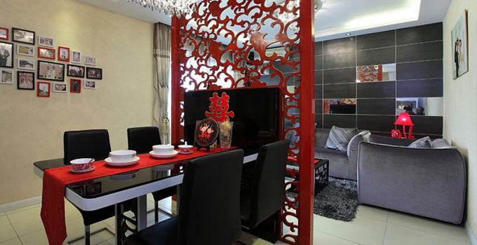 小客厅也要凹造型,10㎡拥有20㎡的大模样