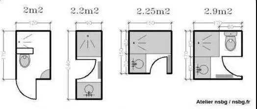 巴掌大的卫生间,六招绝密技巧教你瞬间扩容!