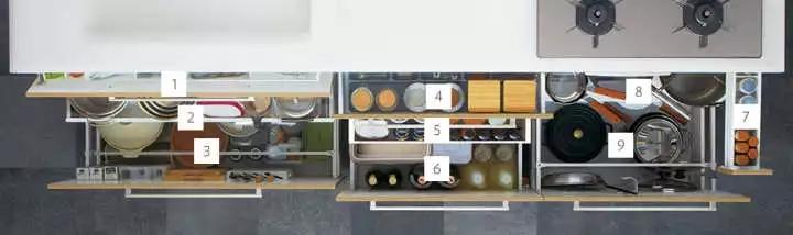 厨房请不要这样设计,不然我担心你会沉迷做饭不可自拔
